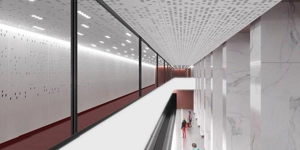 Дизайн станции метро «Стромынка» БКЛ утвержден