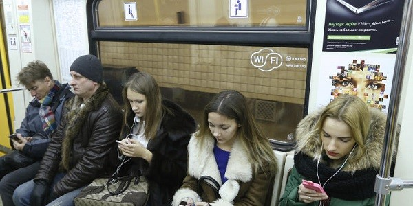 Интернет в подземке: мобильные операторы обгоняют Wi-Fi