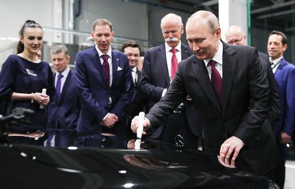 Завод Mercedes