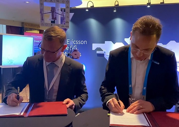 NBM Подписание Москва и Ericsson 5G